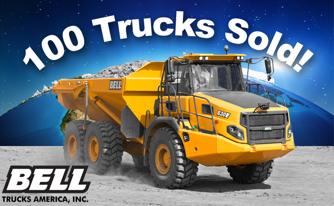 100 Trucks Sold in the US!
