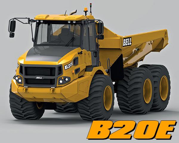 B20E Articulated Dump Truck