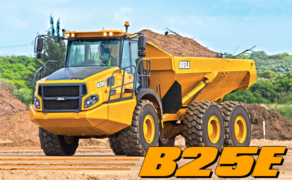 B25E Articulated Truck