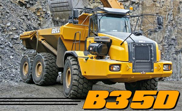 B35D Articulated Dump Truck