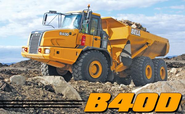 B40D Articulated Dump Truck