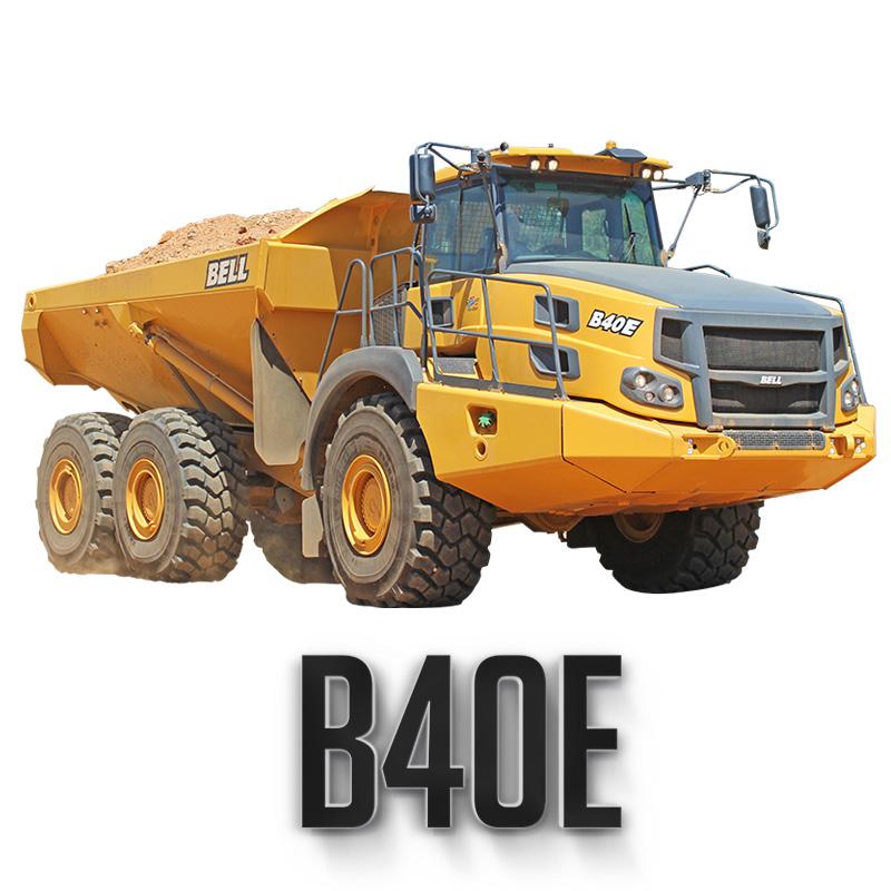 Bell B40E Articulated Truck