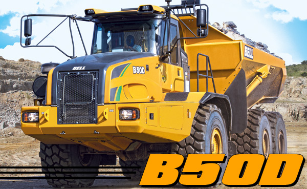 B50D Articulated Dump Truck