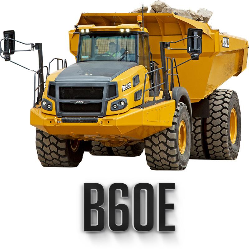 Bell B60E Articulated Truck