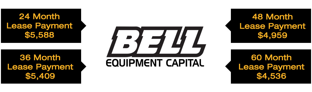 Special Financing on Bell B30E & Other Bell Truck Models
