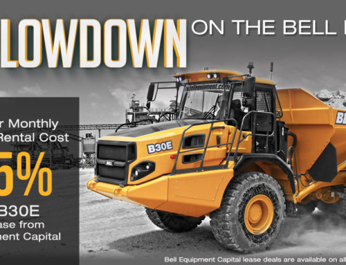 Find Out How to Drop Your Cost by 35% on a B30E or Other Bell Truck Models