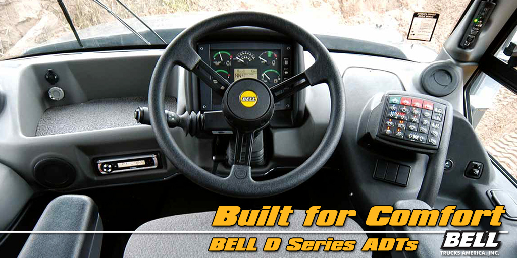 Bell ADTs Built for Operator Comfort