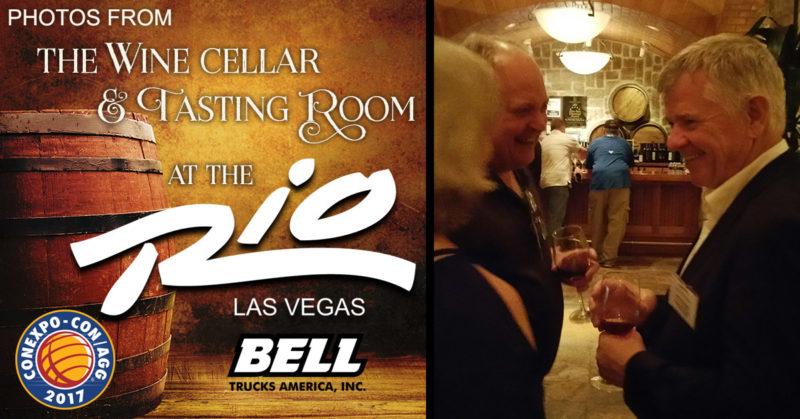 BTA's wine tasting ConExpo 2017 reception at the Rio in Vegas