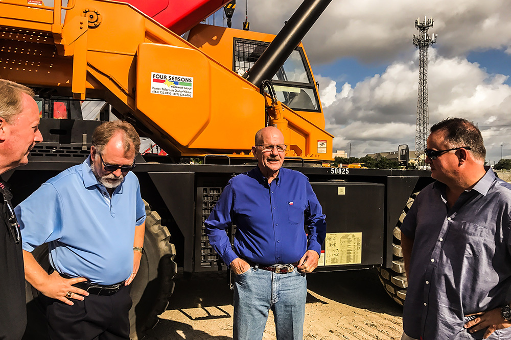 Bell dealer Four Seasons Equipment & Congressman Ted Poe