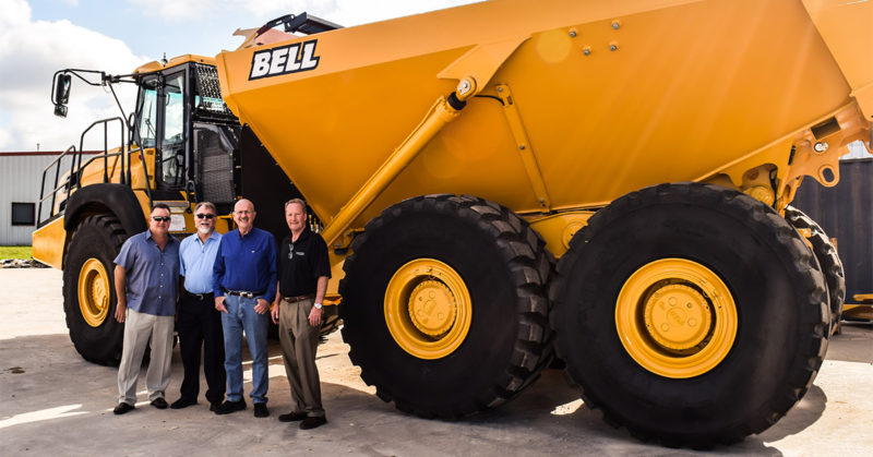 Congressman Ted Poe visits Bell dealer FSEI in Houston, Texas