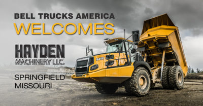 Hayden Machinery LLC - new Bell Trucks America dealer