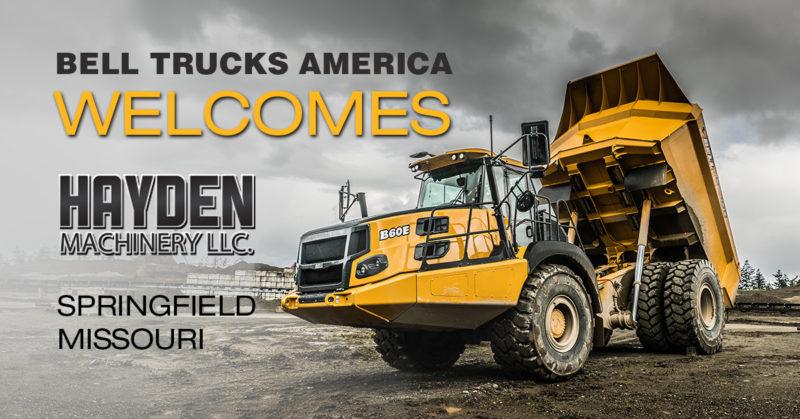 Hayden Machinery LLC - new Bell Trucks America dealer