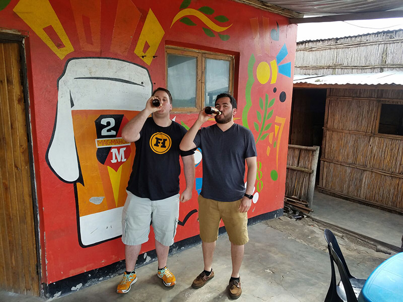 Matt & Jorge - South Africa, Mozambique Border Pit Stop