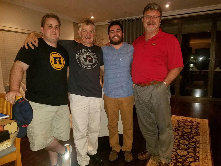 Jorge & Matt - Gary Bell, Neville Paynter - Bell Trucks America