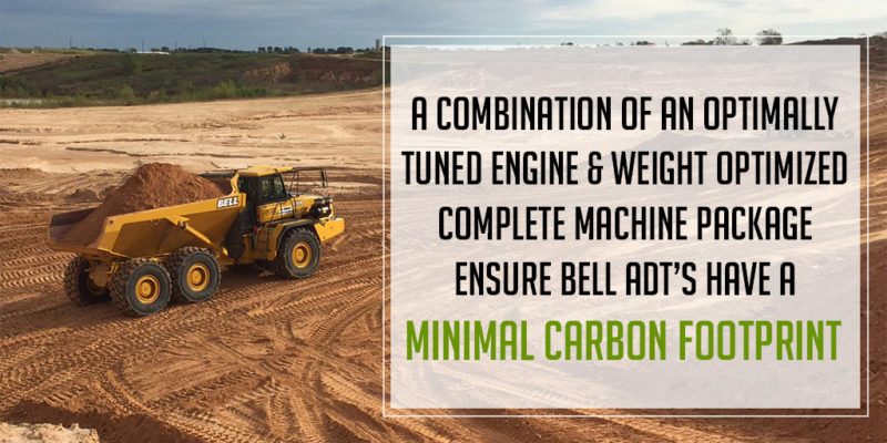 Bell ADT's Help You Reduce Your Jobsite Carbon Footprint!