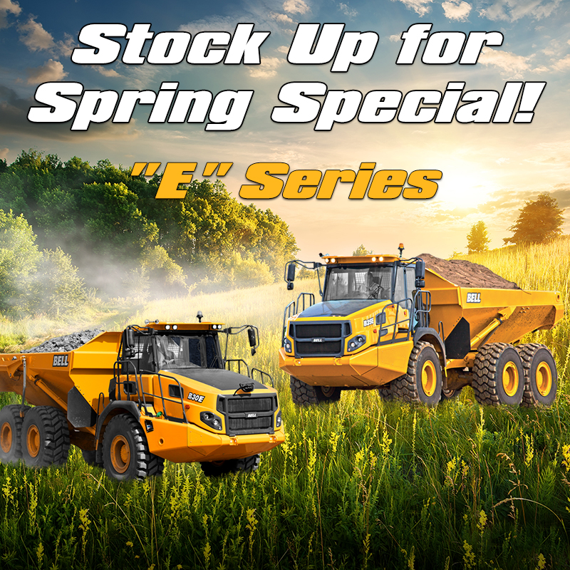 BTA Spring Stock Up Special on E Series Trucks
