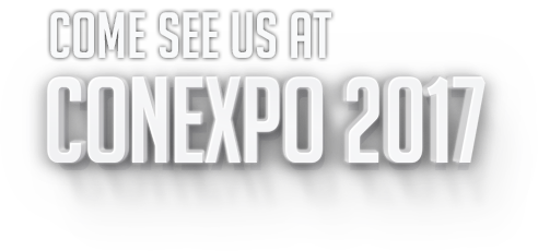 Come see us at CONEXPO 2017