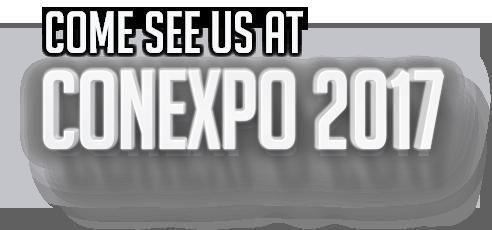 Come see us at CONEXPO 2017