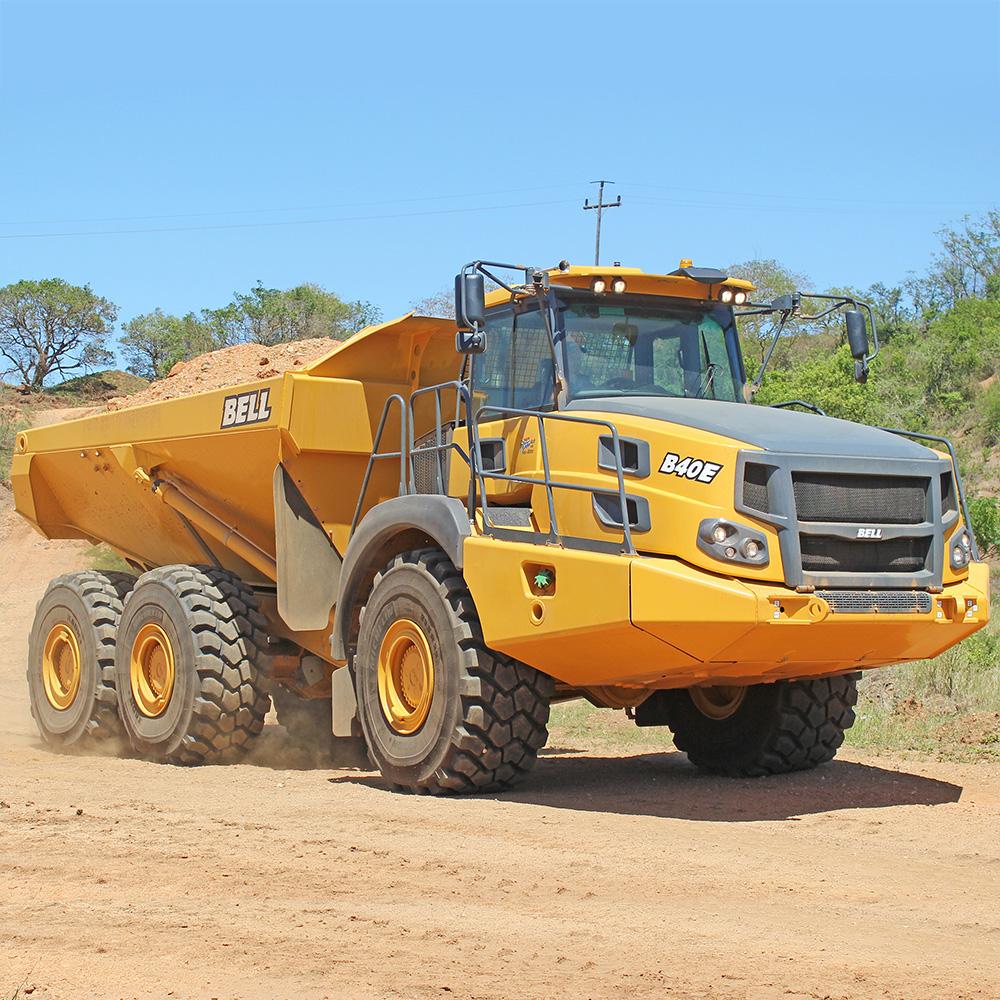 Bell B40e Adt Bell Trucks America