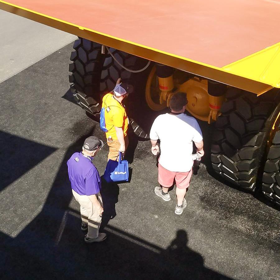 Bell Trucks America at CONEXPO-AGG/CON 2017