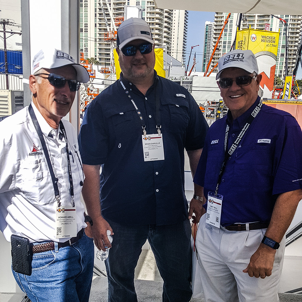 Bell Dealers with Gary Bell, CEO of Bell Equipment