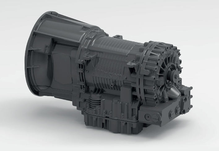 E Series ADT Powershift Transmission