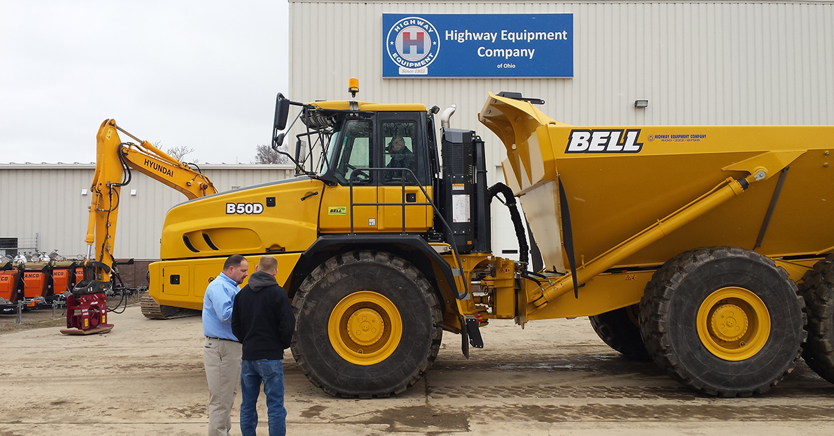 Highway Construction Equipment's New Ohio Facility