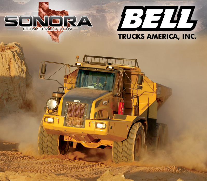 Sonoma Construction and Bell Trucks - a profitable relationship