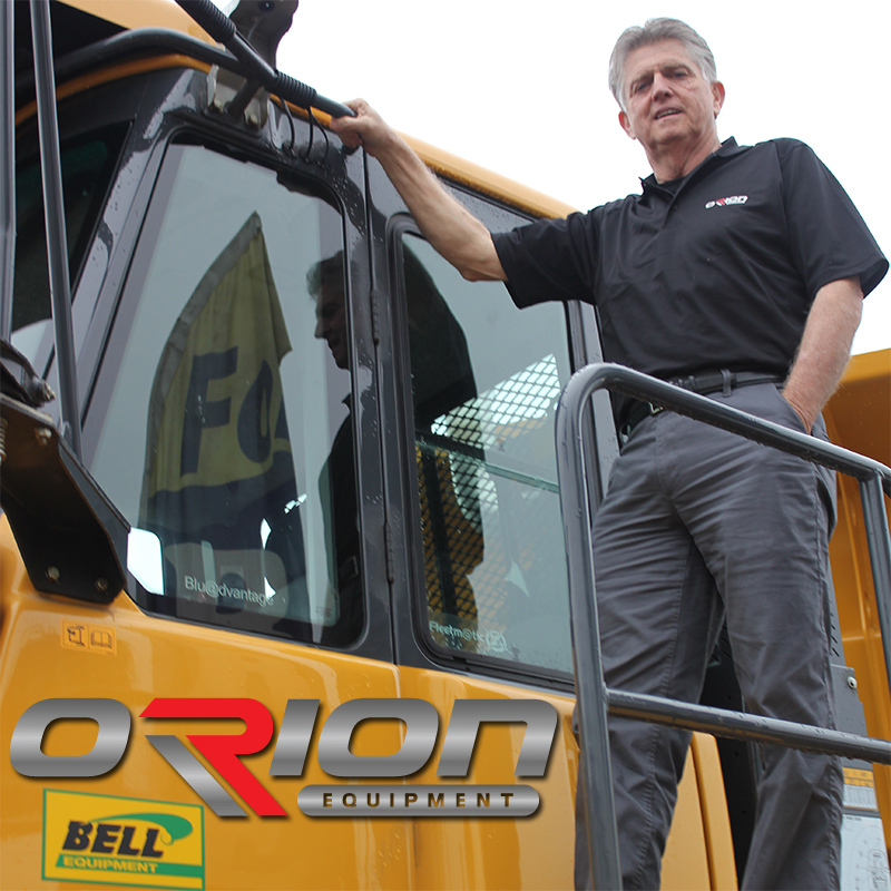 Tom Williams, Strategic Account Manager for Orion Equipment
