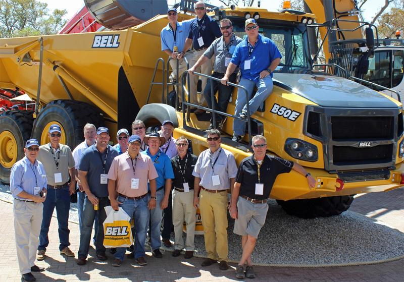 Bell Trucks America Dealers Go to Bauma 2015