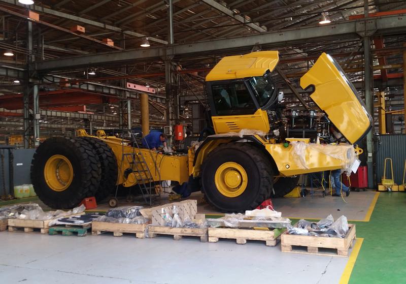 Bell Trucks Factory - Africa