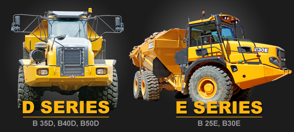 Bell Trucks America - D & E Series ADT's