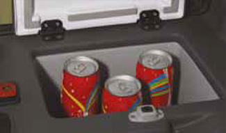 Cup holders in Bell Trucks Cabs