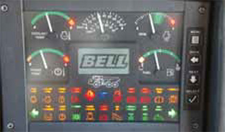 Bell ADTs - innovative monitor in cab